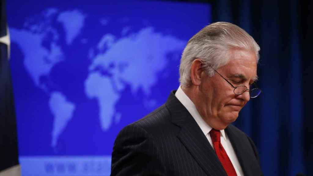 Tillerson, en una imagen de archivo