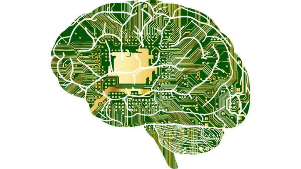 Ilustración de un cerebro.