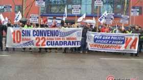 protesta policia municipal valladolid 11