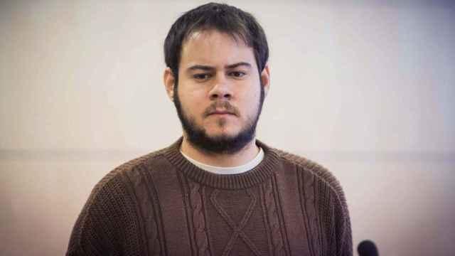 El rapero Pablo Hasel en la Audiencia Nacional.