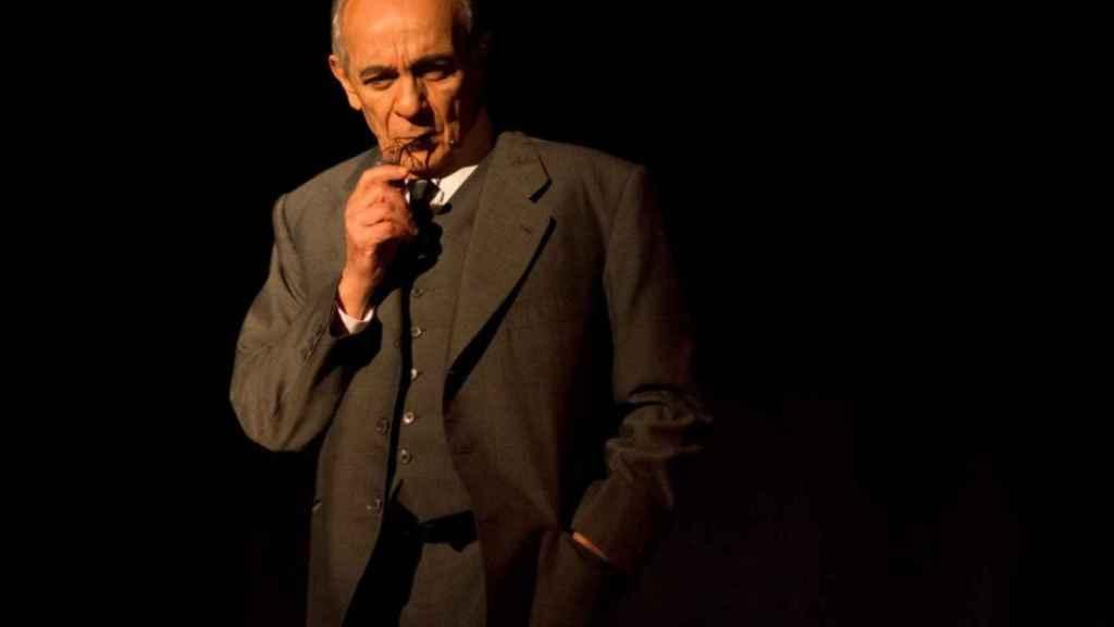 José Luis Gómez, Azaña en el Teatro de La Abadía.