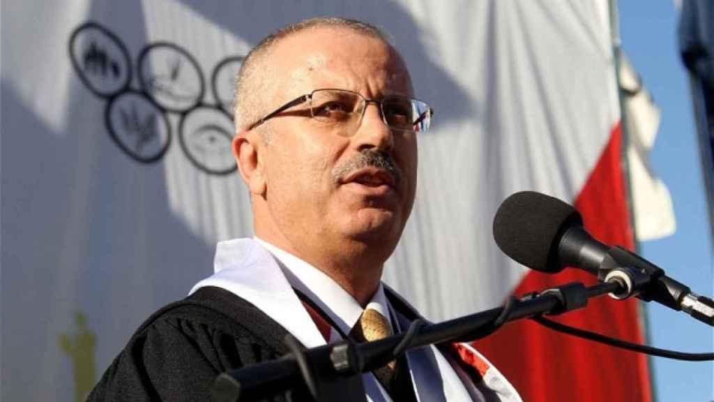 El primer ministro palestino, Rami Hamdala.