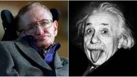 Stephen Hawking y Albert Einstein han sido los dos científicos más populares del siglo XX.