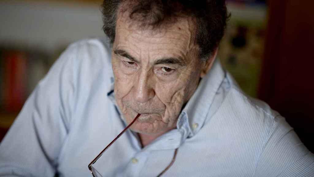 Sánchez Dragó, durante una entrevista con este periódico.