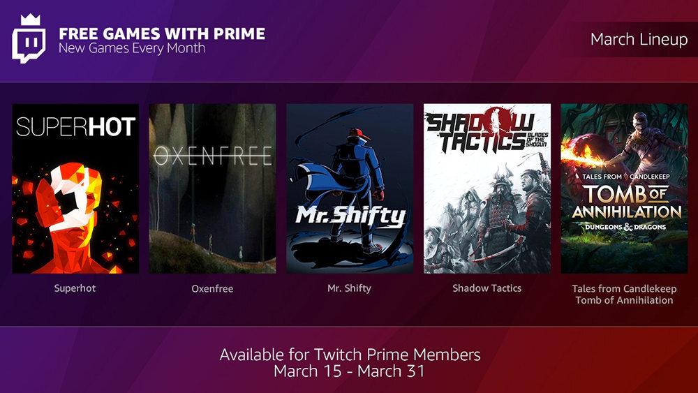 twitch prime juegos