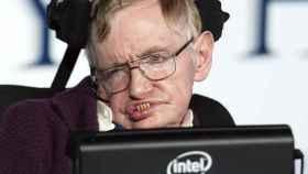 Stephen Hawking en 2014, durante la presentación de la película 'La teoría del todo', basada en su vida.