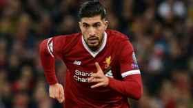 Emre Can, en el Liverpool. Foto liverpoolfc.com