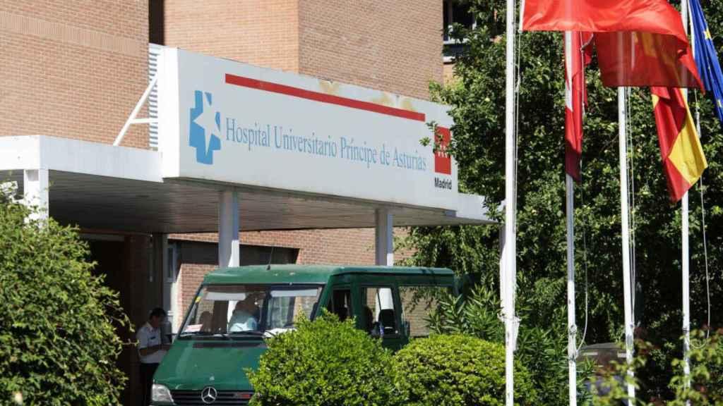 Fachada del Hospital de Alcalá de Henares.