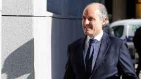 Francisco Camps a su llegada a la Audiencia Nacional.