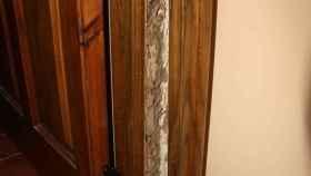 termitas marco puerta