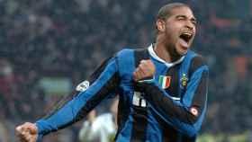 Adriano Leite con el Inter de Milán. Foto: inter.it
