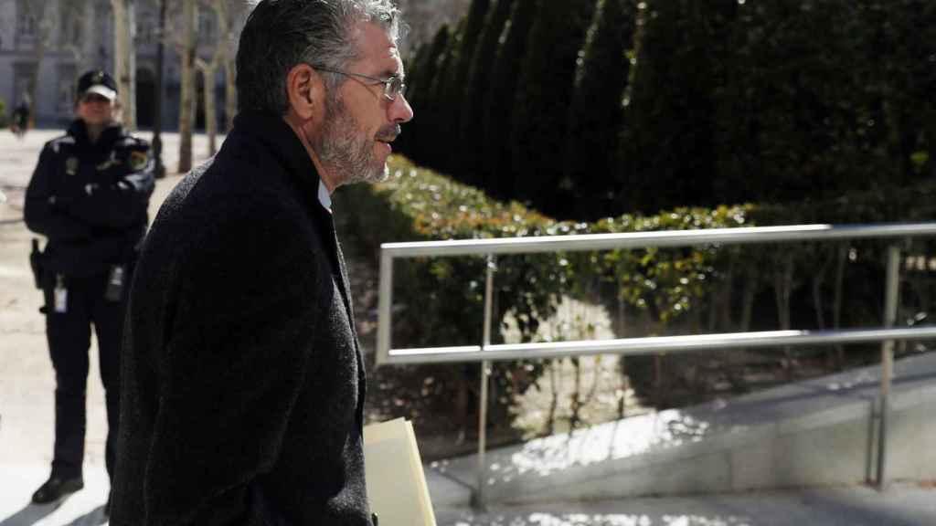 Francisco Granados, principal investigado en el caso Púnica, en la Audiencia Nacional