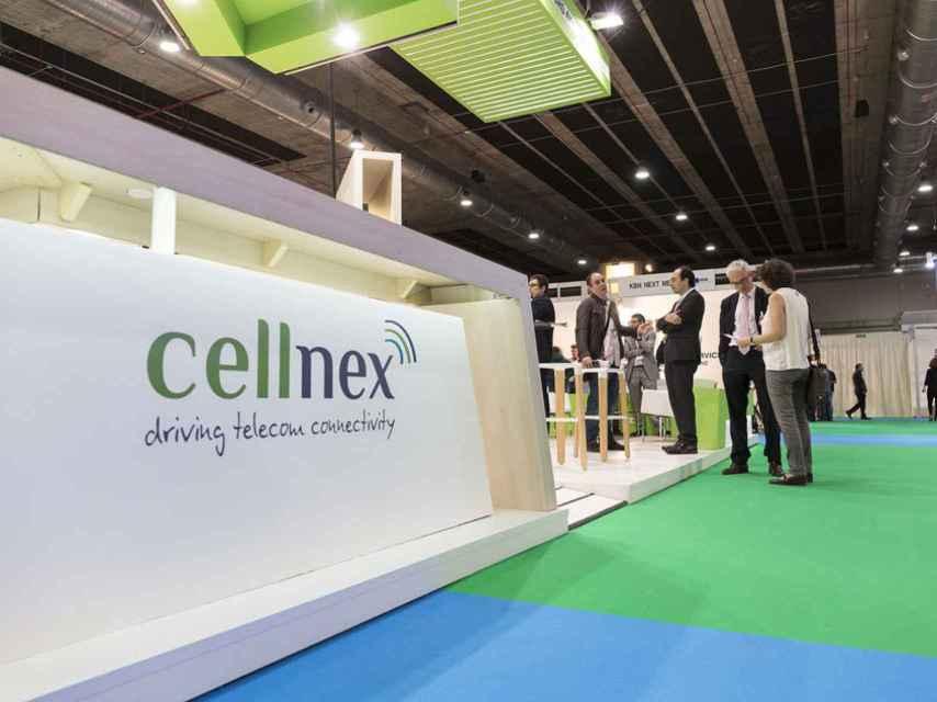 Logo de Cellnex, en una imagen de archivo.