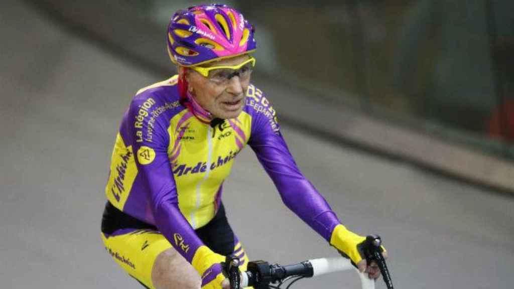 El ciclista francés Robert Marchand