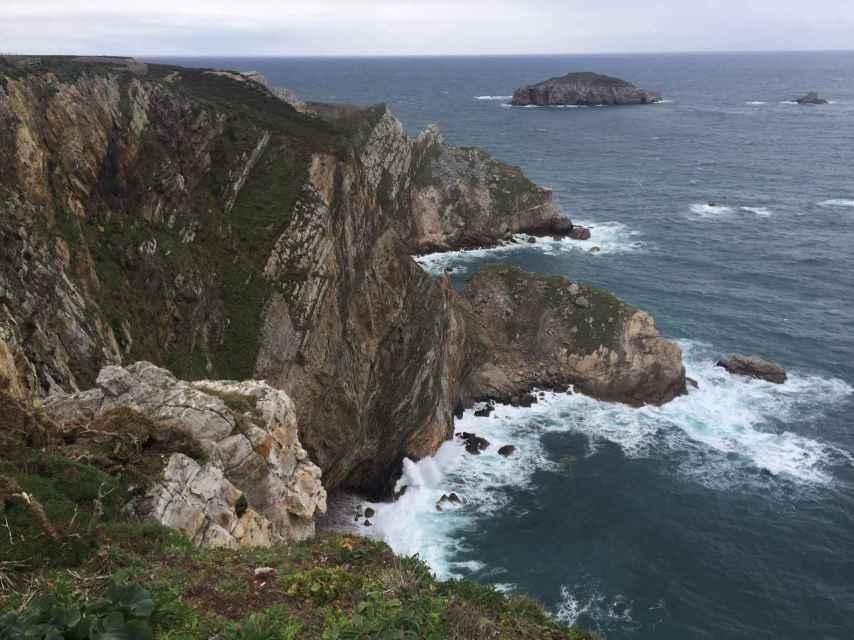 El Cabo Peñas, el punto más septentrional de Asturias