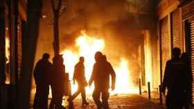 Los sindicatos policiales piden medidas contra los terroristas callejeros de Lavapiés