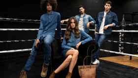 Modelos con la colección Buenos Liberto.