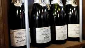 Varias botellas de cava Freixenet, en una imagen de archivo.