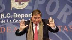 Lendoiro, expresidente del Deportivo.