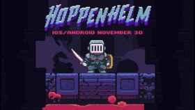 Pixela tu móvil con un juego inspirado en recreativas: Hoppenhelm