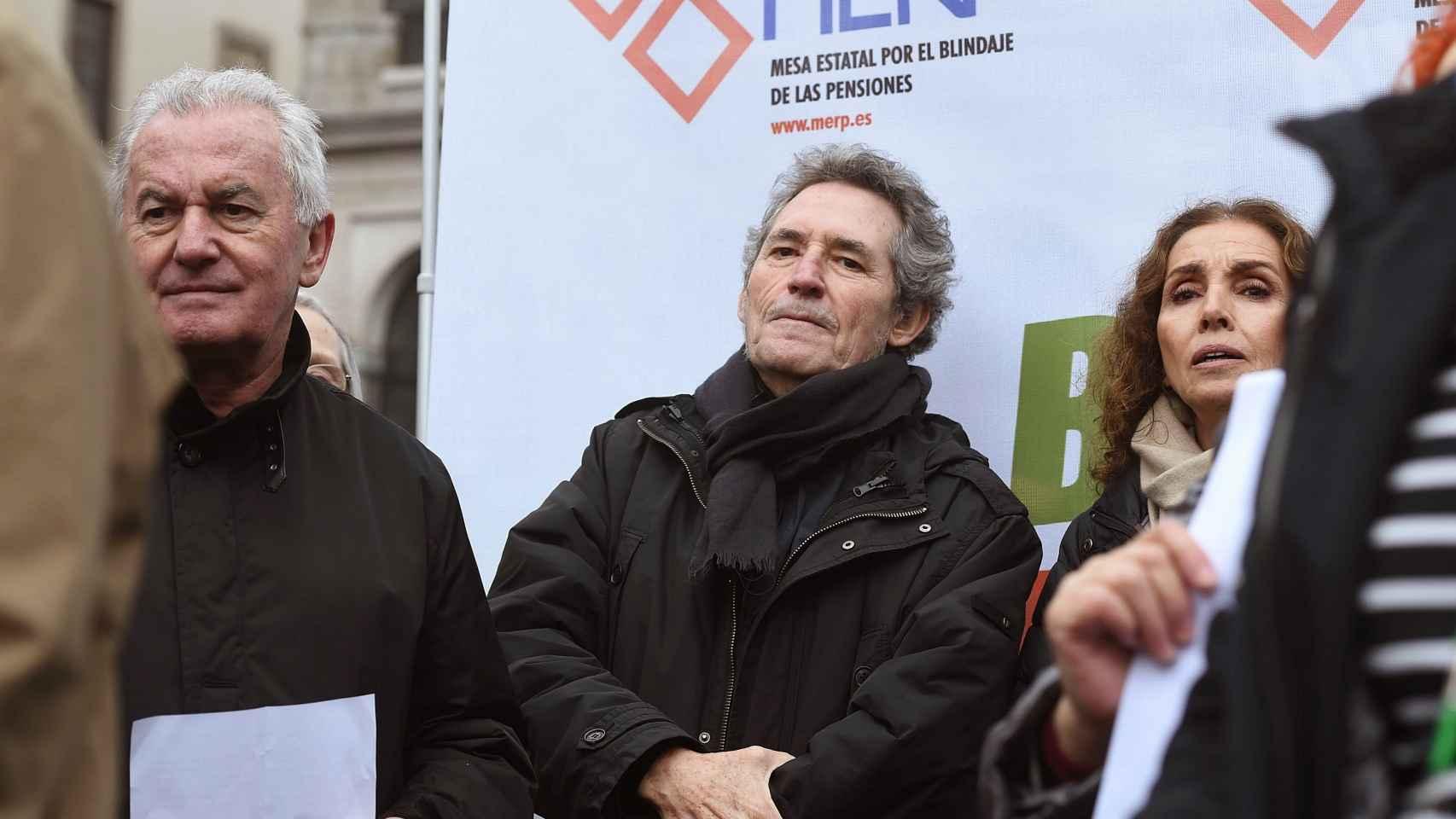 Manifestación convocada en Madrid en defensa de las pensiones
