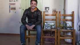 Paulo Suárez, 23 años, estudiante de Informática y minero.