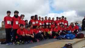 seleccion alevin provincial atletismo