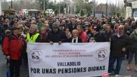 manifestacion defensa pensiones dignas valladolid 20