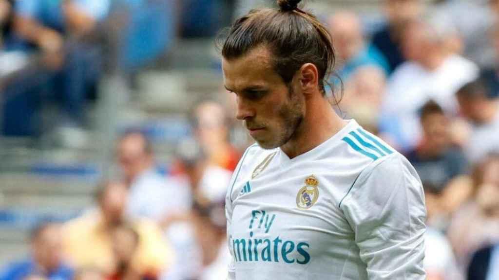 Bale, cabizbajo. Foto: Manu Laya / El Bernabéu