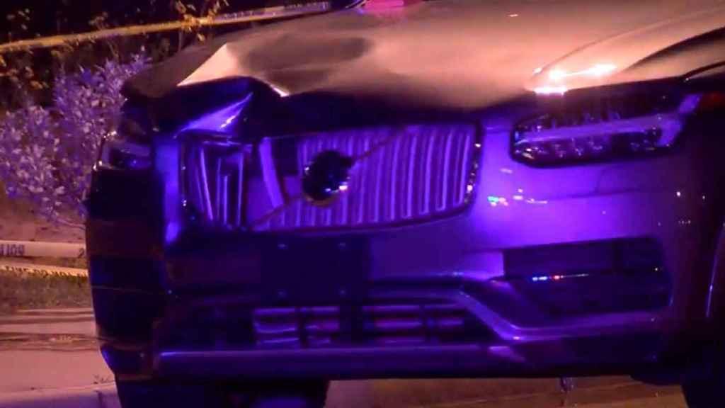 El coche autónomo de Uber involucrado en el accidente mortal de 2018