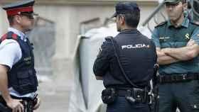 policia guardia civil mossos