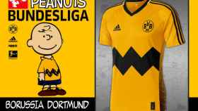 Camiseta de Snoopy a lo Borussia Dortmund.