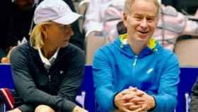 Navratilova y McEnroe.