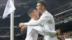 Cristiano felicita a Lucas por su gol al Girona