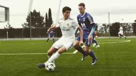 Latasa, jugador del Juvenil C del Real Madrid Foto: Instagram (@jmlatasa)