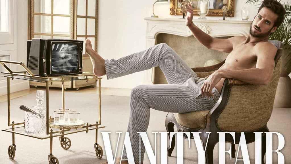 Feliciano López en una imagen del reportaje de 'Vanity Fair'.