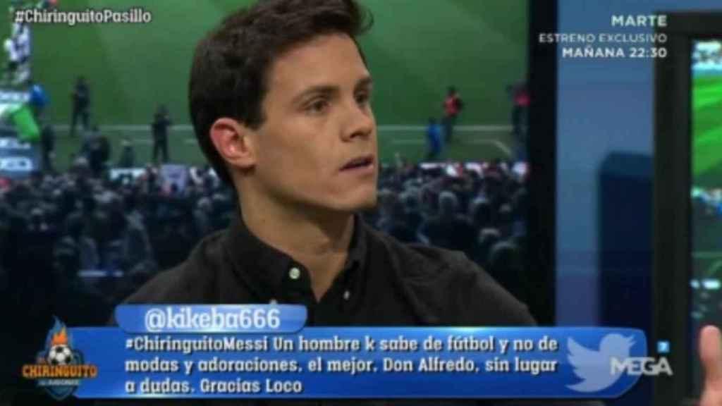 Edu Aguirre en El Chiringuito
