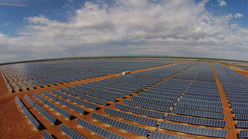 Planta fotovoltaica de Acciona.