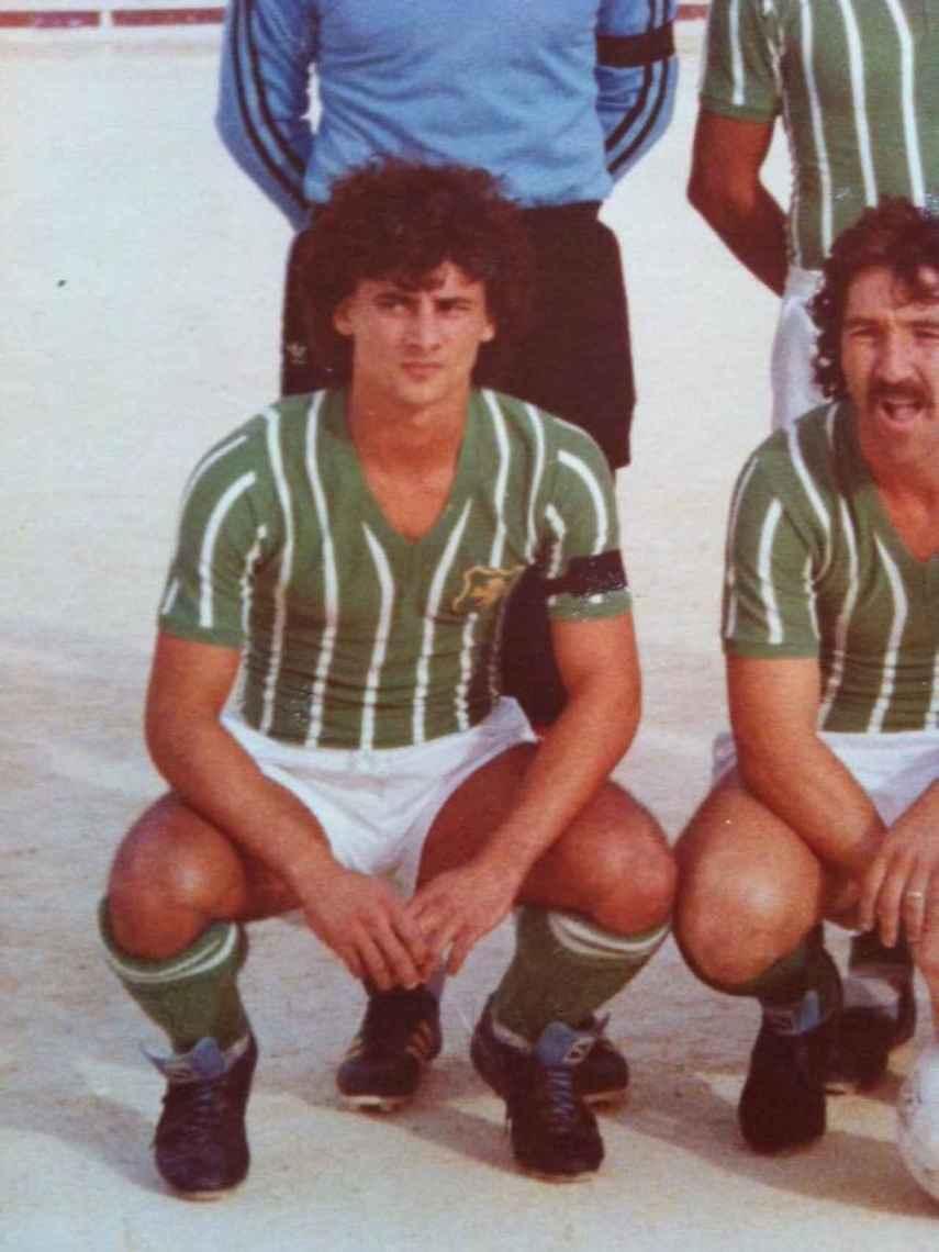Silvio Demanuele, durante su etapa de futbolista.