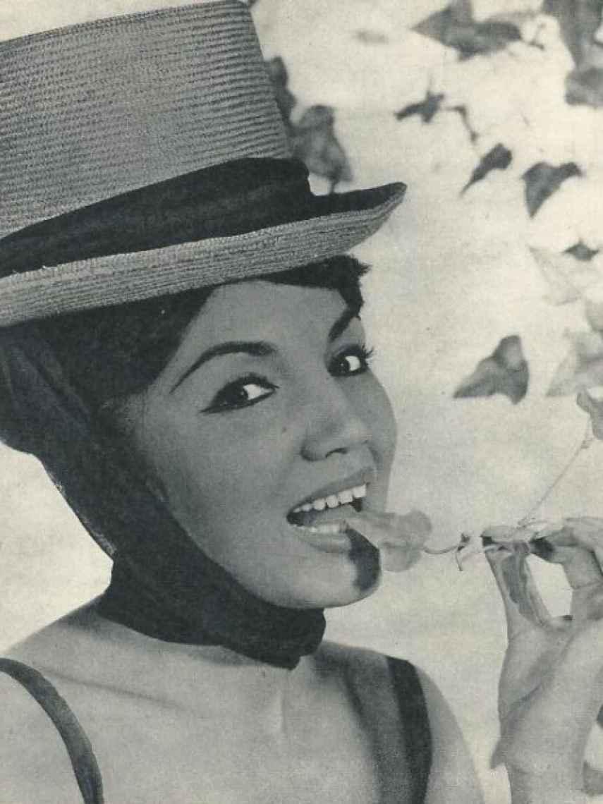 Franciska en una foto para su disco.