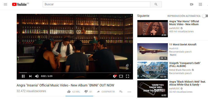 youtube musica 2