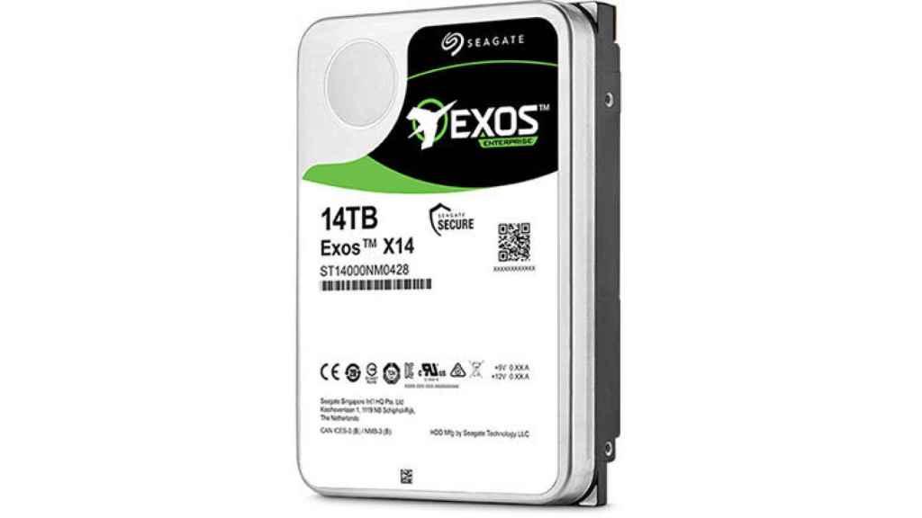 seagate exos x14 disco duro 1