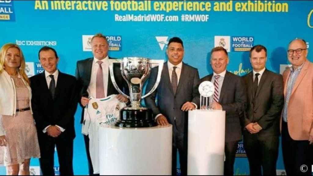 Butragueño o Ronaldo dan a conocer la nueva exposición itinerante del Real Madrid