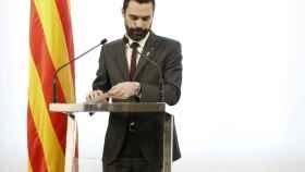 Torrent, este miércoles en el Parlament de Cataluña.