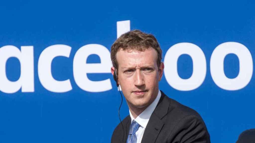 Zuckerberg, en una imagen de archivo