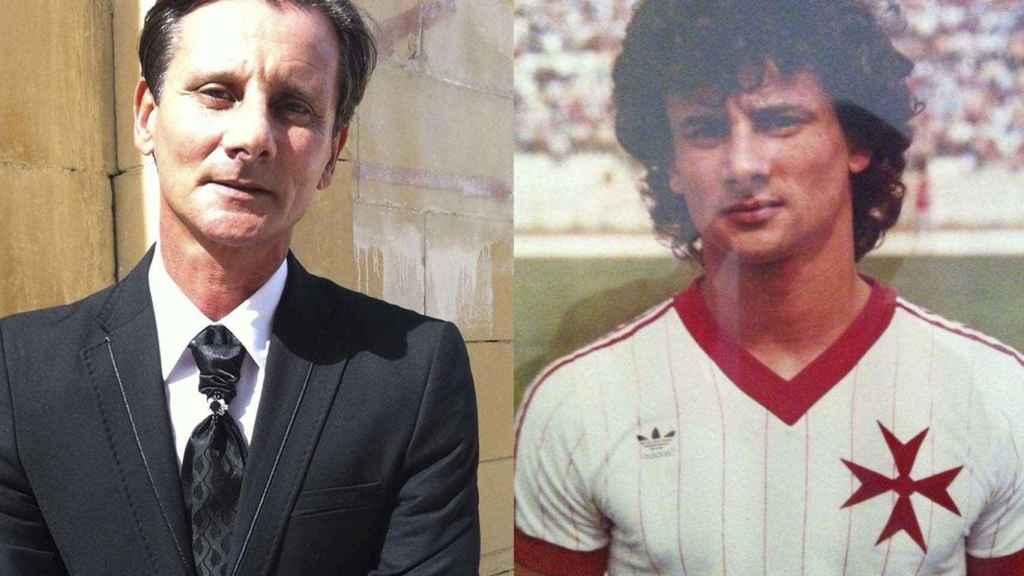 Silvio Demanuele marcó el único gol de Malta frente a España en 1983.