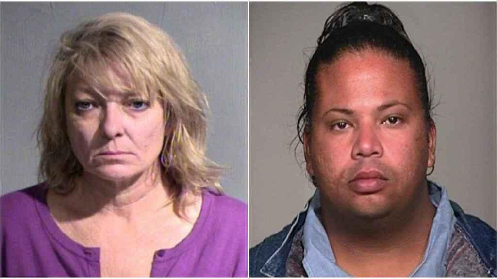 Elaine, a la izquierda, falleció a causa del vehículo que monitorizaba Rafaela, ex convicta y empleada de Uber.