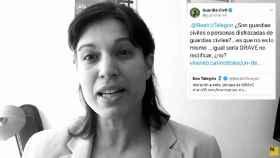 Beatriz Talegón pide disculpas a la Guardia Civil y su ridículo es aún mayor