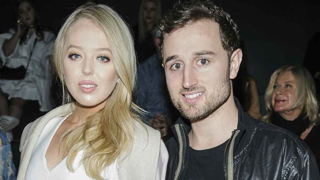 Tiffany Trump y su ya exnovio, Ross Mechanic.