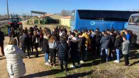 zamora diputacion visita alumnos madridanos (2)